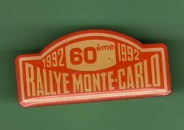 60eme RALLYE MONTE-CARLO 1992  *** 0069 - Automobile - F1