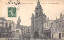 17 - LA ROCHELLE - Statue De L'Amiral - Duperré Et Grosse Horloge - La Rochelle
