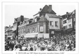 76 Duclair Mai 1987 Départ Du Premier Marathon Jeanne D'Arc (2 Scans) - France
