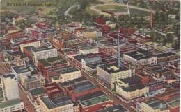 Indiana Anderson Aerial View 1946 Curteich - Anderson
