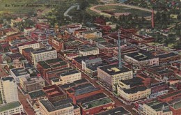 Indiana Anderson Aerial View Curteich - Anderson
