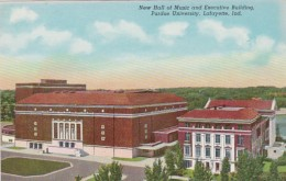 Indiana Lafayette New Hall Of Music & Executive Building Pur