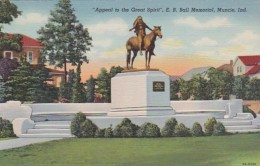 Indiana Muncie Appeal To The Great Spirit E B Ball Memorial 1950