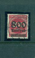 Neuer Wert Auf Ziffern Im Kreis, Nr. 303 A Gestempelt, Infla Geprüft - Unused Stamps
