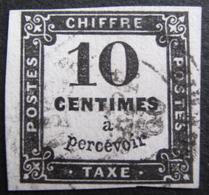 Lot FD/371 - TIMBRE TAXE - N°2 - CàD : ALGERIE SEPT 1860 - Portomarken
