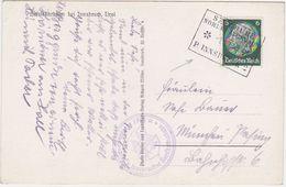 "GERMANY AUSTRIA 1940 PICT.PC HAFELEKARBAHN AUXIL.RAILW.PM ""Seegrube, Nordkettenbahn"" USED - Allemagne"