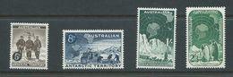 Australian Antarctic Territory 1959 Pre Decimal Definitive Set Of 4 MNH - Australian Antarctic Territory (AAT)