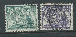 Norfolk Island 1956 Pitcairners Set 2 GU - Norfolk Island
