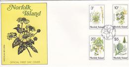 Norfolk Island 1984 Flora Dated   10 Jan 84 FDC - Norfolk Island