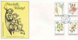 Norfolk Island 1984 Flora Dated 27 Mar  FDC - Norfolk Island