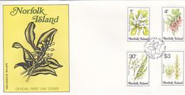 Norfolk Island 1984 Flora Dated 27 March FDC - Norfolk Island