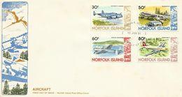 Norfolk Island-1981 Aircrafts  FDC - Norfolk Island