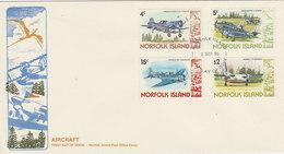 Norfolk Island-1980 Aircrafts II   FDC - Norfolk Island