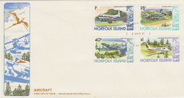 Norfolk Island-1981 Aircrafts IV   FDC - Norfolk Island