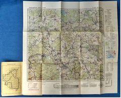 Topographische Karte  -  Montabaur  -  Ca. 60 X 59 Cm - Ca. 1957 - Topographische Karten