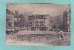 Small Antique Postcard Of Vevey, Vaud, Switzerland.Y58. - VD Vaud