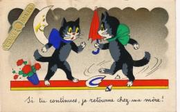 H26 - CHATS - Bonnée - Si Tu Continues, Je Retourne Chez Ma Mère ! - Katten
