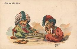 H26 - Illustrateur E. HERZIG - La Partie D'échecs - Andere Illustrators