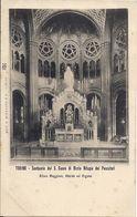 TORINO SANTUARIO DEL S.CUORE DI MARIA RIFUGIO DEI PECCATORIO ALTARE MAGGIORE ABSIDE ED ORGANO - Churches
