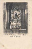 TORINO SANTUARIO DEL S.CUORE DI MARIA  ALTARE S.GUISEPPE - Churches