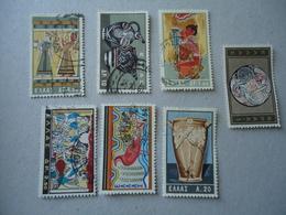 GREECE USED STAMPS  1961   MINOAN ART - Non Classificati
