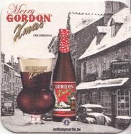 Gordon - Merry Xmas - Ongebruikt Exemplaar - Bierviltjes
