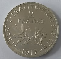 2 Francs 1917 - Semeuse - Argent - Superbe +++ - - I. 2 Francs