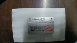 Switzerland-(kp95/143)-depeschenagentur Sda Ats-used-card-(525l)-(10chf)+1card Prepiad Free - Switzerland