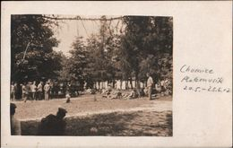 ! Alte Fotokarte 1917, Photo, Chomice, 1. Weltkrieg, Polen ?, Platzmusik - Polen
