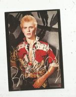 Cp , Spectacle , Artiste , Musique & Musiciens,  Dédicacée , BILLY IDOL ,  Vierge ,  ED. EBULLITIONS , N° CC 528 - Artistes