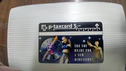 Switzerland-(hobi-w11)-musical Space Dream-mint-card-(521l)-(5chf)+1card Prepiad Free - Svizzera