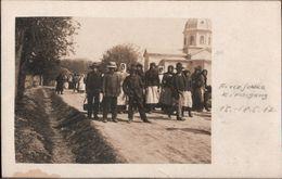 ! Lot Von 4 Alten Fotokarten 1917, Photos, Firlejowka, 1. Weltkrieg, Militaria, Ukraine - Ukraine