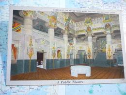 Interior Of Majestic Theater + Corner Of The Grand Foyer Aztec Theater San Antonio 2 Cards - San Antonio