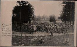 ! Alte Fotokarte 1917, Photo, Krogulec, Sächsische Sanitäts Komp. 278, Militaria Militär, Sachsen, 1. Weltkrieg, Ukraine - Ukraine