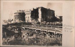 ! 3 Alte Fotokarten 1917, Photos, Bereschany, Brzezany, Schloß, Markt, 1. Weltkrieg, Ukraine, Obl. Ternopil - Ukraine