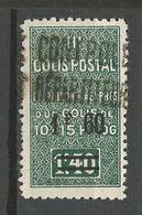 ALGERIE COLIS POSTAUX YVERT N° 31 Variétée Point Apres F Absent / MAURY N° 39 NEUF*  TRACE DE CHARNIERE / MH - Algérie (1924-1962)