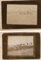 (54) 2 Photos Appareil Demoli Dans Une Chute 1917 Dans L' Aube  9X6cm (bon Etat) - France