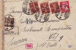 Brief Von Prun Nach Wil (br2486) - 4. 1944-45 Repubblica Sociale