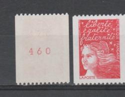 FRANCE / 1997 / Y&T N° 3084a ** : Luquet La Poste TVP Prio (roulette Avec N° Rouge) - Gomme D'origine Intacte - France
