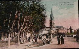 2400A    MONTPELLIER   ECRITE TIMBRE VERSO - Montpellier