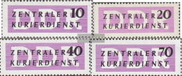 DDR DB6,DB7 N,DB8,DB9 Unmounted Mint / Never Hinged 1956 Courier - Service
