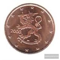 Finland FIN 1 2000 Stgl./unzirkuliert Stgl./unzirkuliert 2000 Kursmünze 1 Cent - Finland
