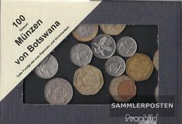 Botswana 100 Grams Münzkiloware - Botswana