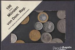 Dominikanische Republik 100 Gramm Münzkiloware - Münzen & Banknoten