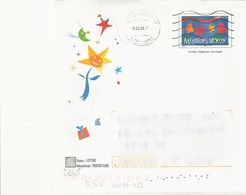 D645 - Entier / Stationery / PSC - Enveloppe PAP Meilleurs Voeux - Sapin, étoile Et Cloche - Prêts-à-poster:  Autres (1995-...)