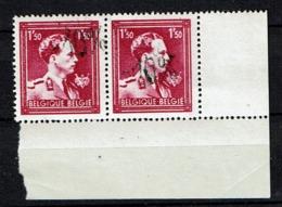 724 N Paire  **  Surcharge Dégradée - 1946 -10 %