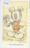 Télécarte Japon  / 110-183789 - DISNEY * MICKEY * BEING REMEMBERED  (5598) Japan Phonecard Telefonkarte - Disney