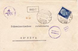 Brief Von Carpenedolo Nach Genf (br2487) - 4. 1944-45 Repubblica Sociale