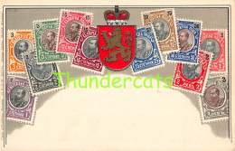CPA  LE  LANGAGE DES TIMBRES STAMPS  OTTMAR ZIEHER RUSSIA RUSSIE - Timbres (représentations)