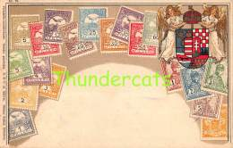CPA  LE  LANGAGE DES TIMBRES STAMPS  OTTMAR ZIEHER HUNGARY HONGRIE HUNGARIA - Timbres (représentations)